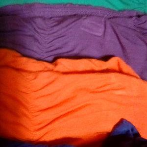 Half Moon size XL lot of 4 strapless short dresses